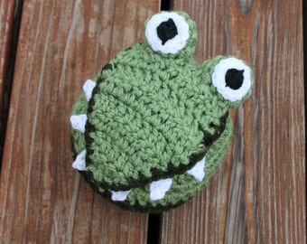 Alligator or Crocodile Hat- Made to Order- Any Size