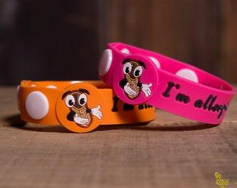 Peanuts allergy bracelet