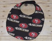 San Francisco 49ers Baby Bib