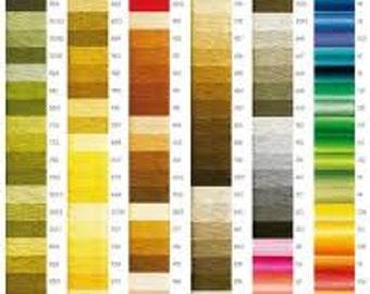 DMC #3 perle pearl cotton one skein needlepoint thread -buy 5 get free needle