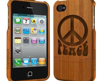 Peace - Bamboo iPhone 5 / 5s Case, Wood iPhone 5/5s Case, iPhone 5 Case