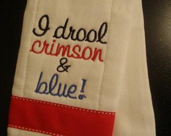 """Jayhawk """"Drool"""" Burp Cloth"""