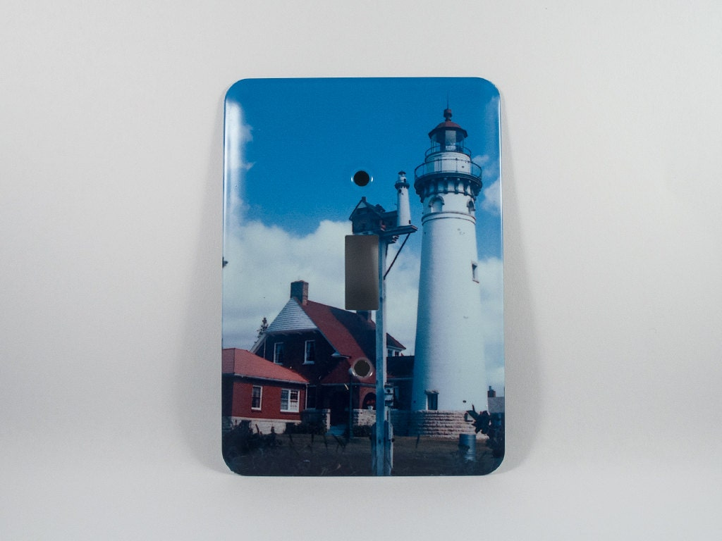 50 pct off light switch cover seul choix michigan lighthouse for Lighthouse switch plates