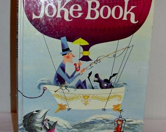 1963 The Joke Book by Oscar Weigle Hardbound