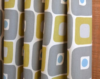 SUMMER SALE! Curtains, Window Treatments, Nursery Baby Room Decor, Curtain Panels, Illusions Summerland Natural shown