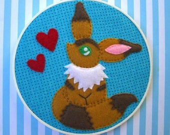 SALE--Nausicaä of the Valley of the Wind--Teto Embroidery Hoop