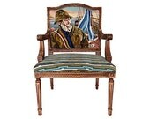 Items Similar To French Louis Xvi Accent Arm Chair
