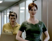 secretary Pencil dress Mad men Reproduction Joan dress wiggle