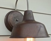 Custom order for Kati: Rustic Outdoor Shed Lights
