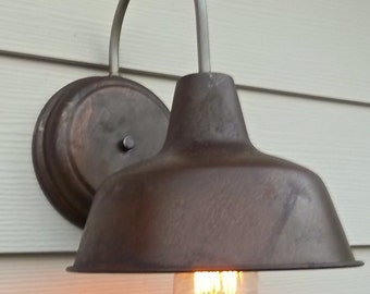 Rustic Outdoor Shed Lights