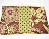 Floral Clutch - Baby Shower Gift - Diaper Clutch - On The Go