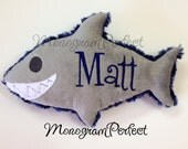 Personalized Plush Shark Soft Toy