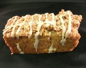 Apple bread Cinnamon Sugar topped, Homemade Moist & Delicious Apple bread  Buy 1 get a 2nd loaf free