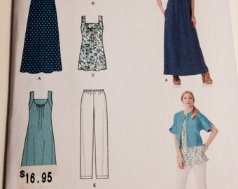 Simplicity Sewing Pattern 1809A Size XXS-XXL Misses New Pattern