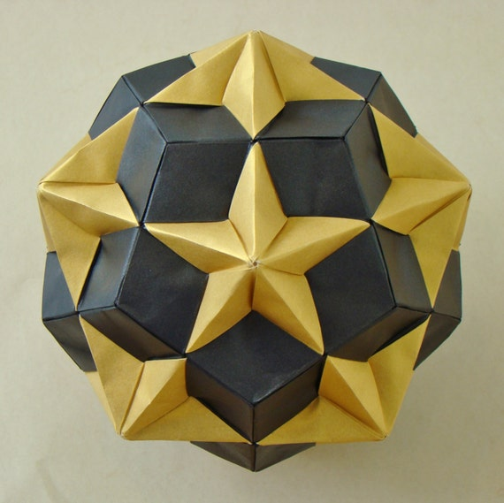 How To Make A Modular Origami Stellated Icosahedron WikiHow