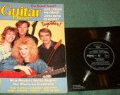 Vintage Guitar Magazine Canadian Summit with Free Flexidisc 1985 Rush Lifeson Emmett Boyd Bickert Tab