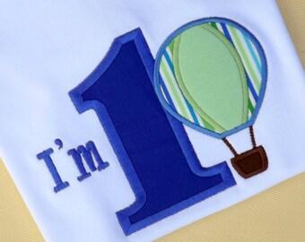 Hot Air Balloon Bodysuit or T-Shirt