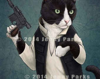 Cat Solo 11x17 Poster
