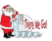 You Didnt Make Santas Naughty Or Nice List . . Humorous Christmas Card... . EMAIL SERVICE