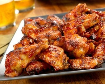 Oven Glazed Chicken Wings Recipe (Getting bored with buffalo wings?)