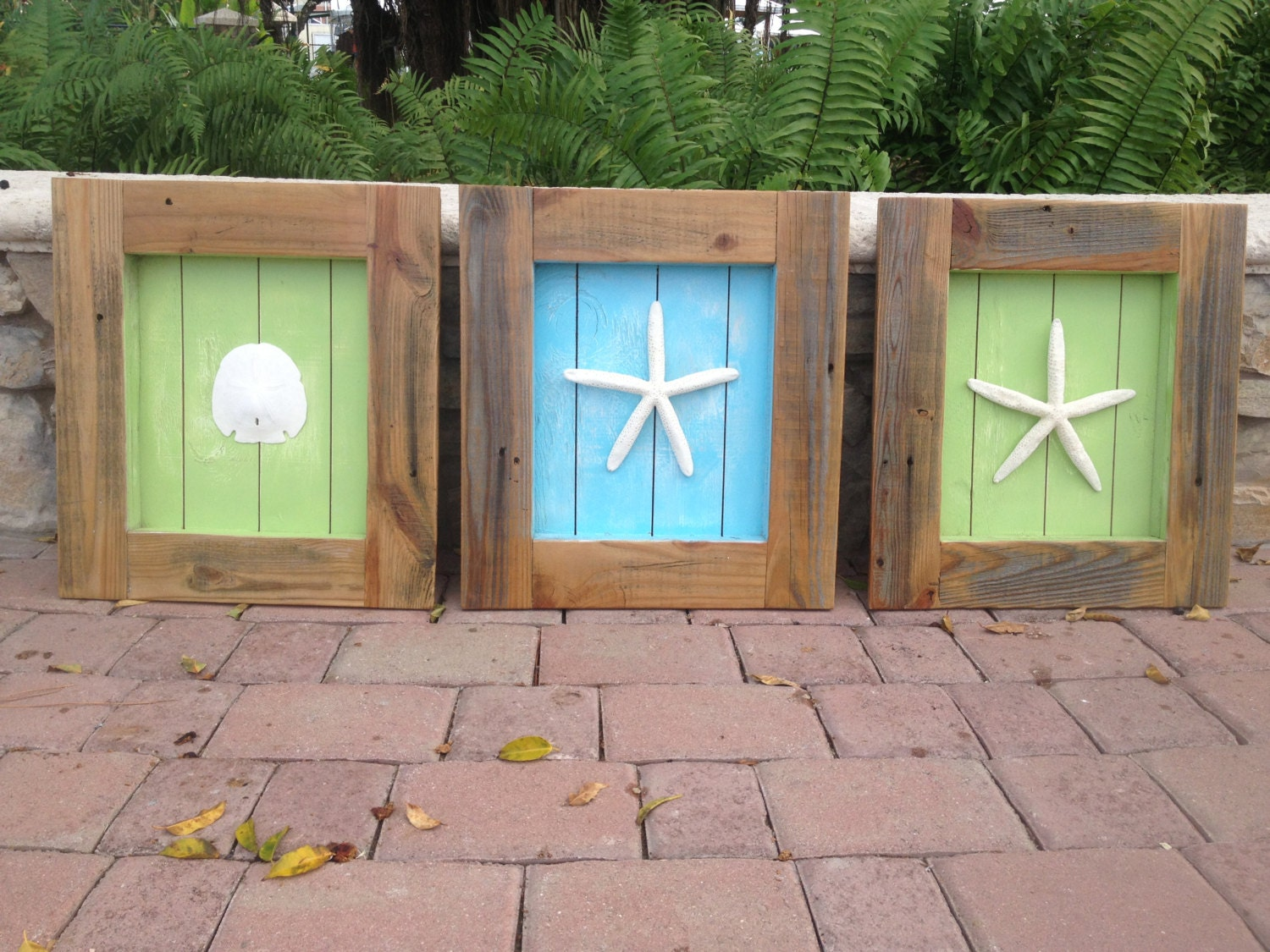 beach decor extra large shadow box frames with shell