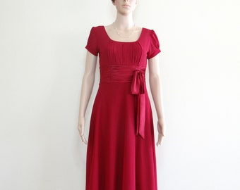 Dress With Sleeves. Bridesmaid Dress