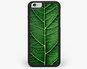 IPHONE 6 Plus CASE, iPhone 6 / 6s Cover, Green Leaf iPhone 5 5s Case