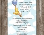 Winnie-the-Pooh Baby Shower Invitation/Digital File