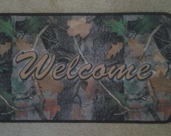Camo decor Welcome mat