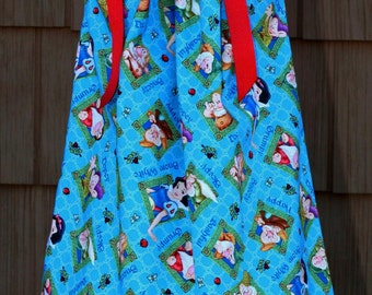 Boutique Pillowcase dress featuring Snow White and the Seven Dwarfs :CH057