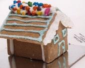2 Mini gingerbread house kits- gluten free! DIY