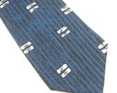 Vintage Silk Tie Karl Lagerfeld Mens Retro Fashion