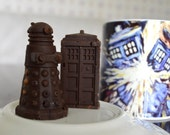 TARDIS and Dalek Truffle Chocolates