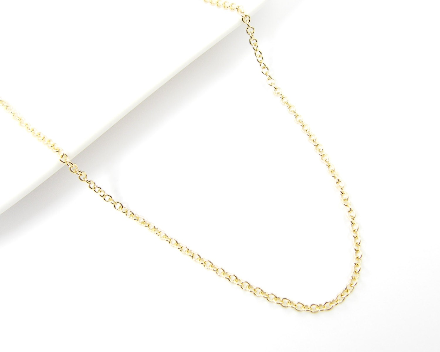 Gold Necklace Chain 30 Inch