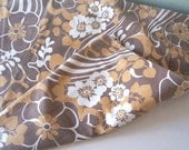 Vintage Pillow Case Bed Linen sheet 60s 70s