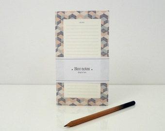 "1 ""Memo"" notepad - 1 bloc-notes ""Memo"""