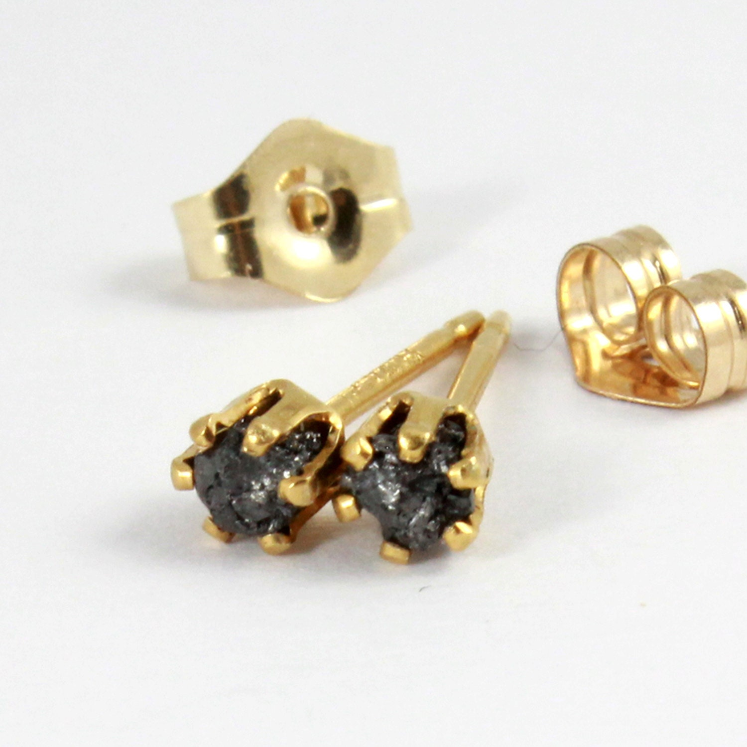 tiny post earrings 2mm 14k gold filled studs