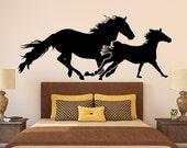 Horse Wall Decal Art Decor Sticker Vinyl