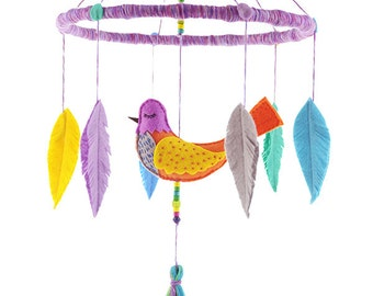 Whisper Bird Baby Mobile No.1