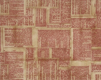 Dictionary in Red from Foundations by Tim Holtz