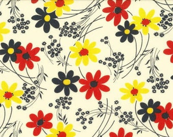 Kei  Vintage Time Floral Color A  for  Yuwa of Japan