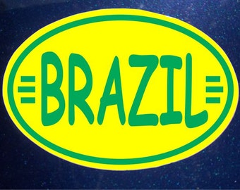 Brazil Car Magnet World Cup Olympics Car Magnet