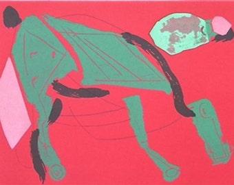 Marino Marini - XXe Siecle No 35 - Original Lithograph 1970