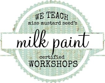 Furniture Painting Workshops, Miss Mustard Seed's Milk Paint Class