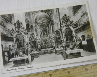WWI Soldier's Souvenir - Klosterkirche Andechs  - Abbey - Germany German Post Card - 1918