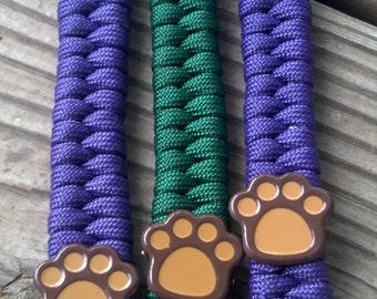 Free U.S. Shipping!! Paracord Keychain with studs!