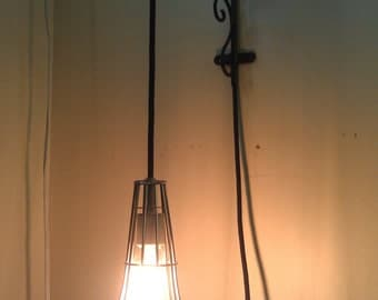 Wire Cage Lamp
