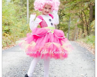 Lalaloopsy Jewel Sparkles Tutu Dress. Great as a costume, for birthday parties, photos and more Jewels Sparkle