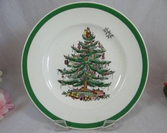 Spode Made in England Christmas Tree Salad Lunch Desert Plates - 9 Available