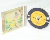 Elton John Goodbye Yellow Brick Road CD Desk Clock, Geekery, Clocks by DanO